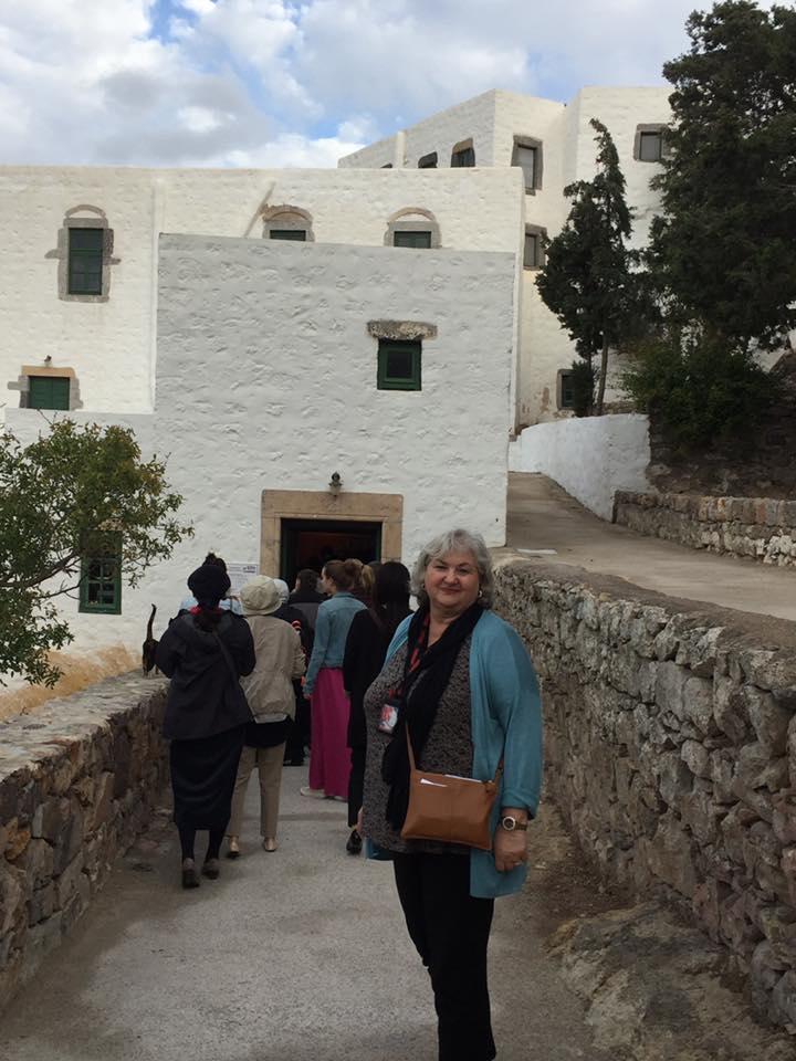 Marienna on Pilgrimage in Greece